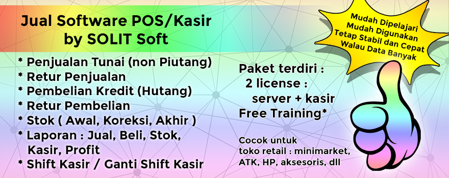 Software Kasir Solit