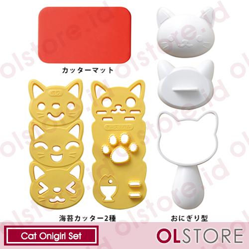 Cat Onigiri Set