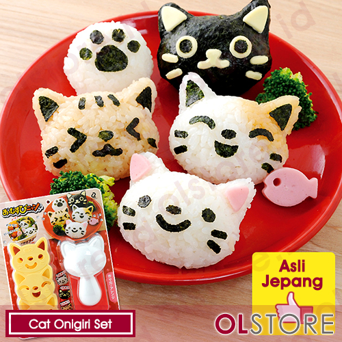 Cat Onigiri Set