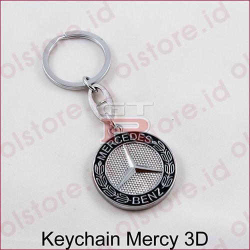 Gantungan Kunci Logo Mobil BMW, Mercy, Mini Cooper, Mitsubishi 3 Dimensi