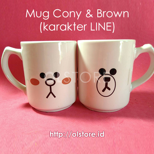 Mug Cony & Brown