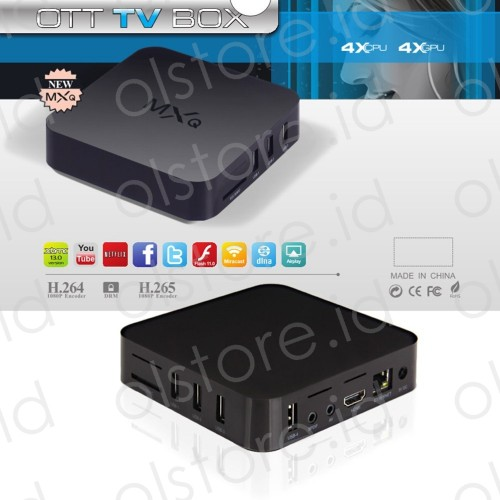 Android TV Box MXQ Amlogic S805 Quad Core  1.5GHz Android 4.4