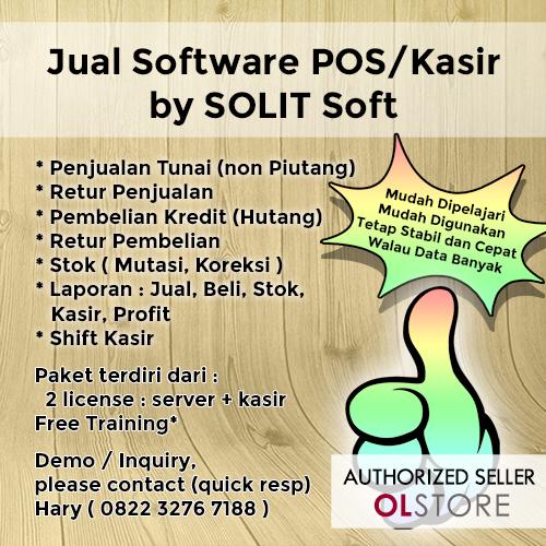 Program Kasir / Point-Of-Sale (POS)