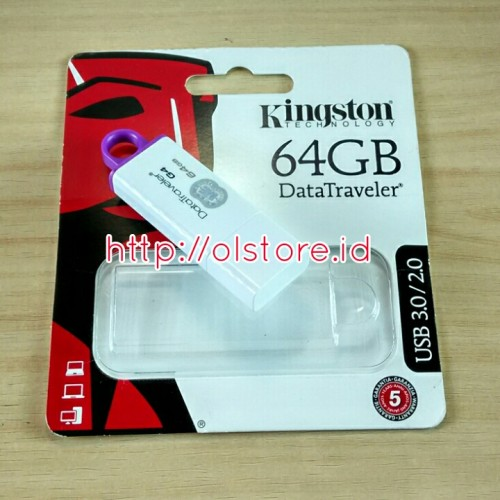 Flash Disk Kingston 64GB DT1G4 USB 3.0/2.0